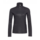 Goldbergh Rinako Womens 1/2 Zip Baselayer Top in Black