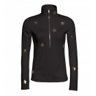Goldbergh Hoshi Womens 1/2 Zip Baselayer Top in Black