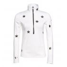 Goldbergh Hoshi Womens 1/2 Zip Baselayer Top in White