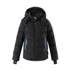 Reima Wakeup Boys Down Ski Jacket in Black