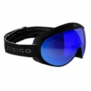 Indigo Voggle Mirror Blue in Black