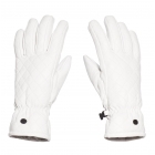 Goldbergh Nishi Womens Leather Ski Gloves in White