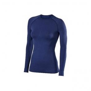 Falke Womens Maximum Warm LS Shirt Tight Fit in Dark