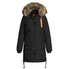 Parajumpers Long Bear Womens Down Winter Coat in Black