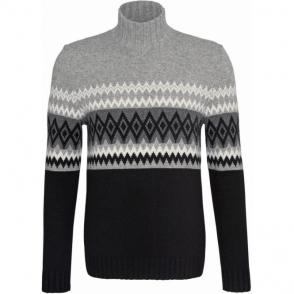 Bogner Iven Mens Knitted Top in Black