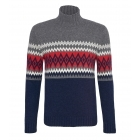 Bogner Iven Mens Knitted Top in Navy