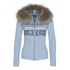 Bogner Naomi Womens Midlayer in Pale Blue
