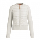 Parajumpers Cle Womens Midlayer Top In Chalk