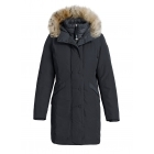 Parajumpers Angie Womens Down Winter Coat in Blue Black