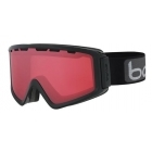 Bolle Z5 OTG Shiny Black Ski Goggles with Vermillon Gun