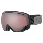 Bolle Emperor Ski Goggle in Black Stripes with Vermillion