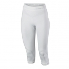 Falke Womens Maximum Warm 3/4 Pant Tights Tight Fit in White