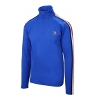 Fusalp Mario 1/2 Zip Mens Midlayer Top in French Blue