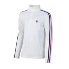 Fusalp Mario 1/2 Zip Mens Midlayer Top in White