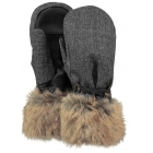 Barts Empire Womens Ski Mitt in Brown