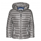 Bogner Lizzy D Girls Ski Jacket in Silver