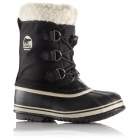 Sorel Yoot Pac Nylon Kids Snow Boot in Black