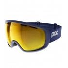 POC Fovea Clarity Ski Goggle in Basketane Blue With Spe Orange