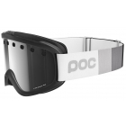 POC Iris Stripes Ski Goggle in Uranium Black with Bronze Silver Lens