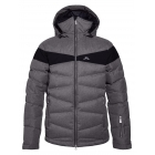 J.Lindeberg Crillon Down Mens Ski Jacket in Grey Melange