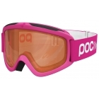 POC POCito Iris Kids Ski Goggle In Fluro Pink with Sonar Orange