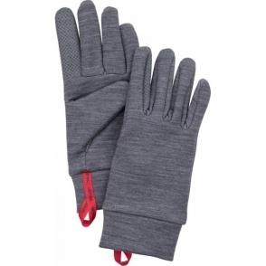 Hestra Touch Warmth Glove in Grey