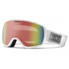 Giro Facet Ski Goggle in White Silver Shimmer with Vivid Infrare