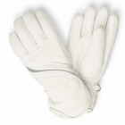 Bogner Mona Womens Ski Glove in Off White