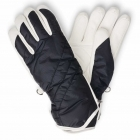 Bogner Benita Womens Ski Glove in Navy And White