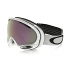 Oakley A Frame 2.0 Polished White with Prizm Hi Pink