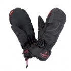 Thermic Warm Mitts in Black and Pink