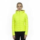 Bogner Fanny D Womens Down Midlayer Jacket in Neon Yellow