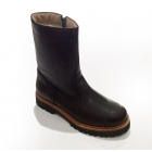 La Thuile Stelivo Leather Mens Winter Boot in Brown