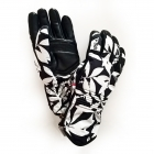 Bogner Inga Womens Ski Glove in Black and White