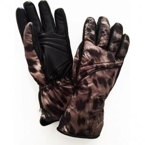 Bogner Hedda Womens Ski Glove in Leo