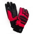 Bogner Agon Mens Ski Glove in Red