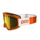 POC Iris Stripes Ski Goggle in Zinc Orange with Pink/Gold Lens