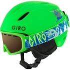 Giro Launch Combo Ski Helmet and Goggle Pack in Matte Bright Green
