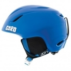 Giro Launch Kids Helmet in Blue Penguins