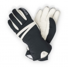 Bogner Nina Womens Ski Glove in Black and Off White