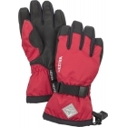 Hestra Czone Gauntlet Jr Ski Glove in Red and Black