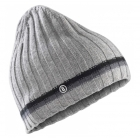 Bogner Peer Mens Ski Hat in Light Grey