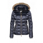 Bogner Lena D Womens Ski Jacket in Navy