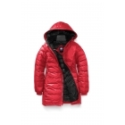 Canada Goose Ladies Camp Hooded Jacket in Red