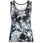 Goldbergh Jackie Singlet in Black Print