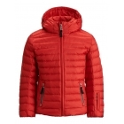 Bogner Lizzy D Girls Ski Jacket in Red