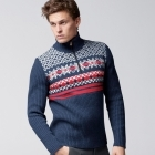 Bogner Earl Mens Knitted Top in Navy