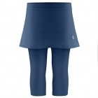 Poivre Blanc Girls Tennis Capri Skirt in Scuba Blue
