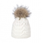 Steffner Cindy Womens Ski Hat In Off White