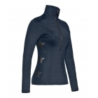 Goldbergh Haruko Womens Baselayer Top in Dark Navy